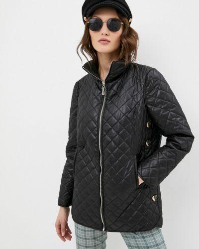 Черная утепленная куртка Argent