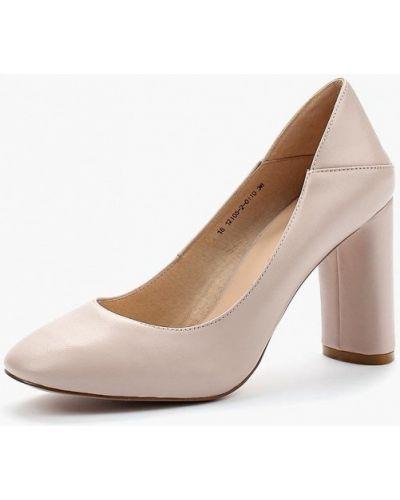 Кожаные туфли на каблуке 2018 Valley
