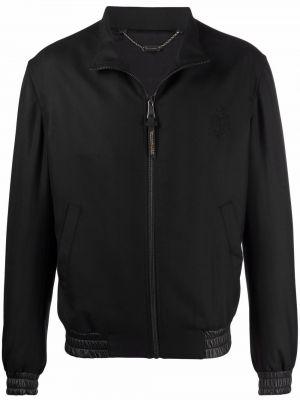 Черная куртка с воротником Billionaire
