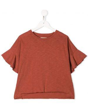 Оранжевая футболка Andorine