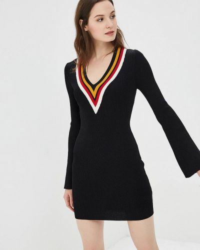 Прямое черное платье You&you