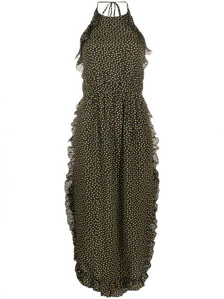 Платье с открытой спиной в горошек See By Chloe
