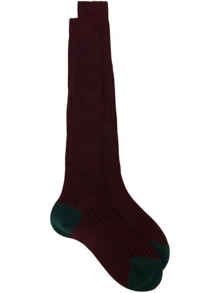 Ватные хлопковые красные носки Fashion Clinic Timeless