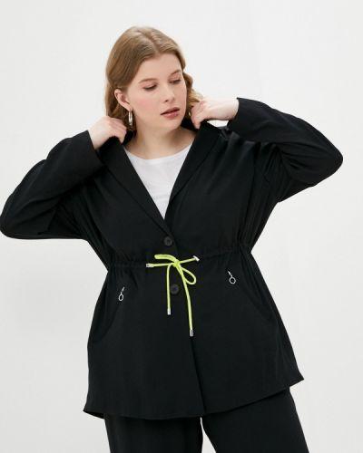 Черный пиджак Ulla Popken