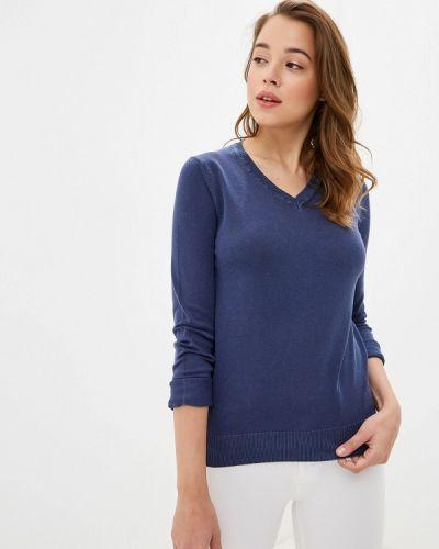 Синий пуловер Giorgio Di Mare