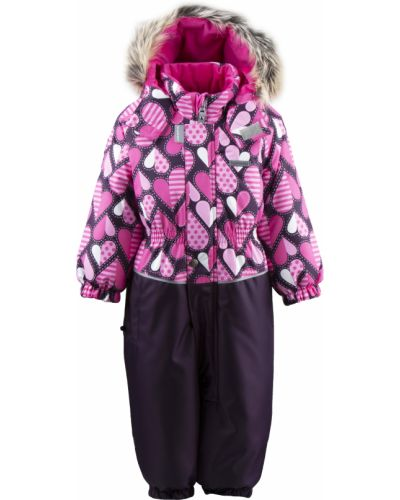 Зимний комбинезон розовый Mothercare