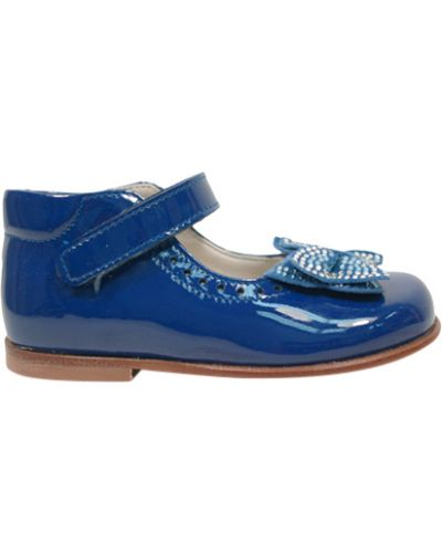 Туфли лаковые синие Zecchino D'oro