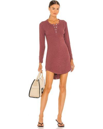 Трикотажное платье - бордовое Chaser