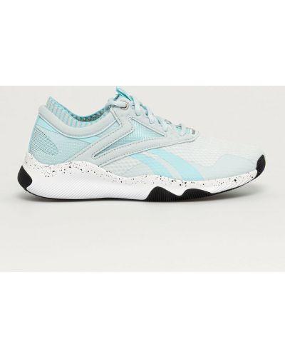 Niebieskie sneakersy sznurowane Reebok
