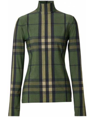 Zielony sweter Burberry