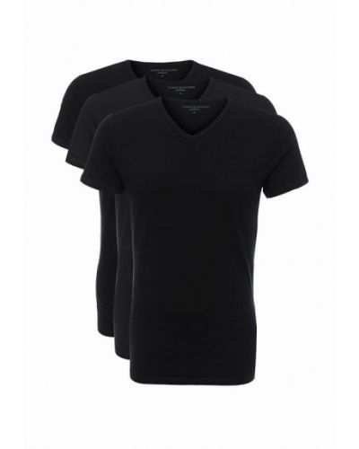 Черный футболка набор Tommy Hilfiger