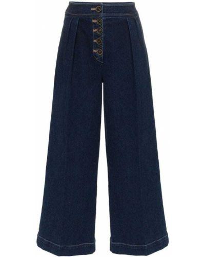 Пляжные широкие джинсы Rejina Pyo