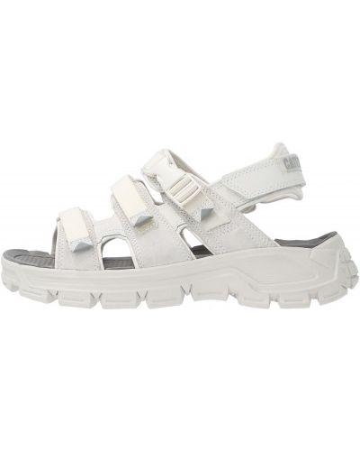 Белые текстильные сандалии Caterpillar