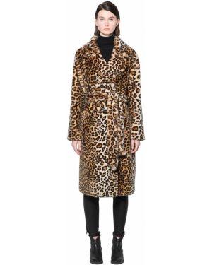 Пальто с поясом Stand