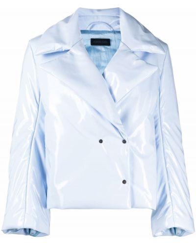 Длинная куртка - синяя Eudon Choi