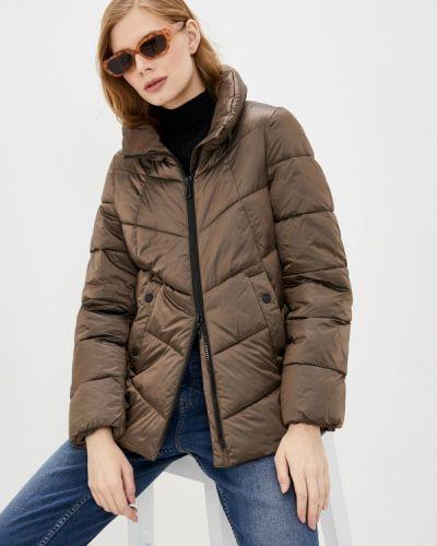 Утепленная коричневая куртка Gerry Weber