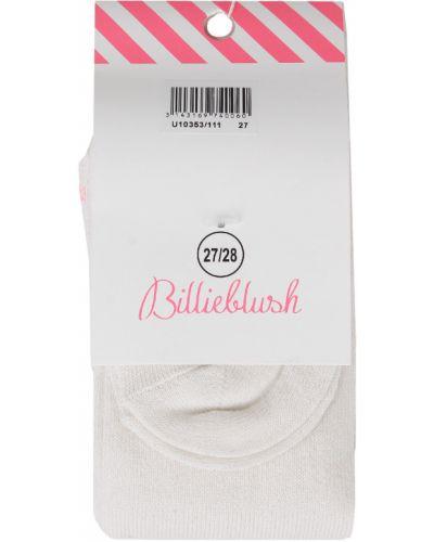 Хлопковые белые колготки Billieblush