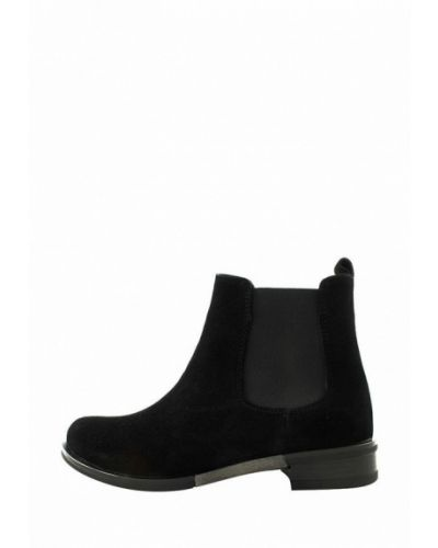 Ботинки челси - черные Zlett