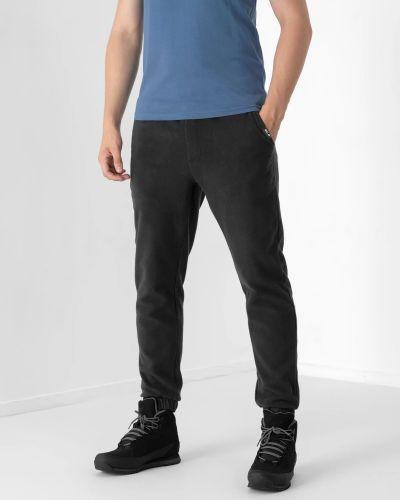 Трикотажные спортивные брюки - черные 4f
