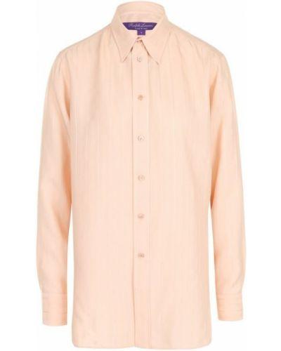 Блузка из вискозы шелковая Ralph Lauren