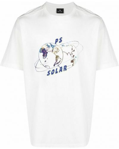 Biała t-shirt Paul Smith