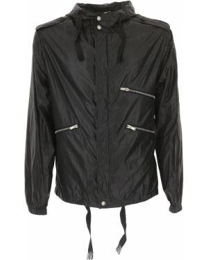Czarna kurtka z kapturem Yves Saint Laurent