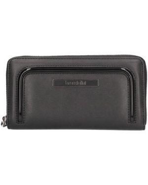 Czarny portfel Braccialini