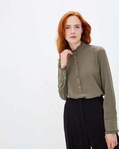 Блузка с длинным рукавом зеленый хаки Woman Ego
