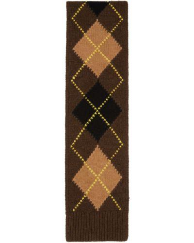 Черный кашемировый шарф прямоугольный Burberry