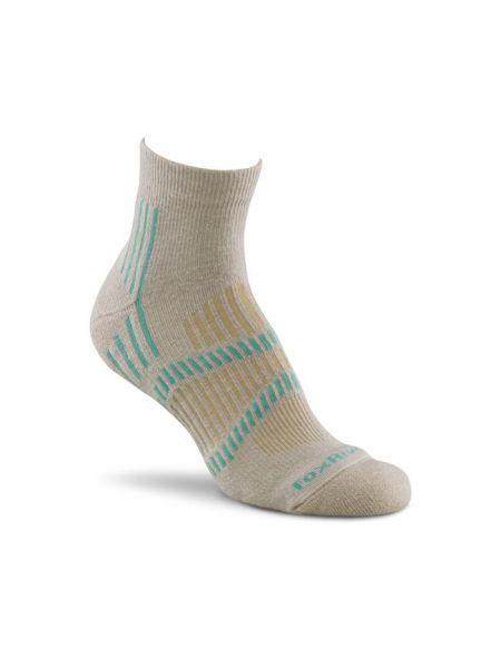 Тонкие коричневые шерстяные носки каскадные Foxriver