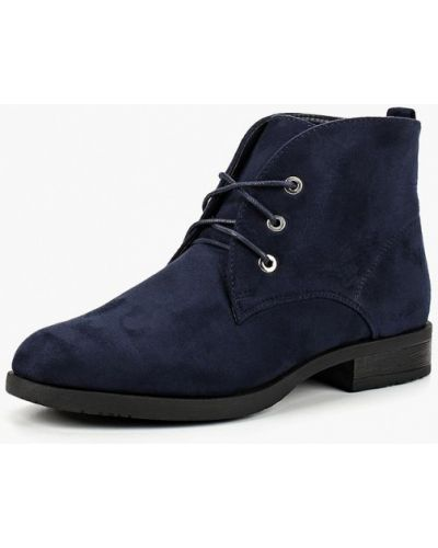 Ботинки на каблуке осенние замшевые Sweet Shoes