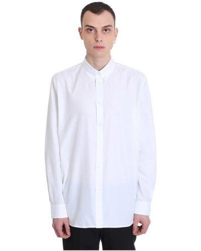 Koszula z długimi rękawami zapinane na guziki z printem Givenchy