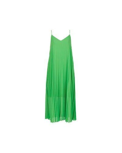 Платье из полиэстера - зеленое Essentiel