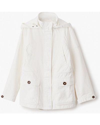 Расклешенная свободная белая куртка Finn Flare