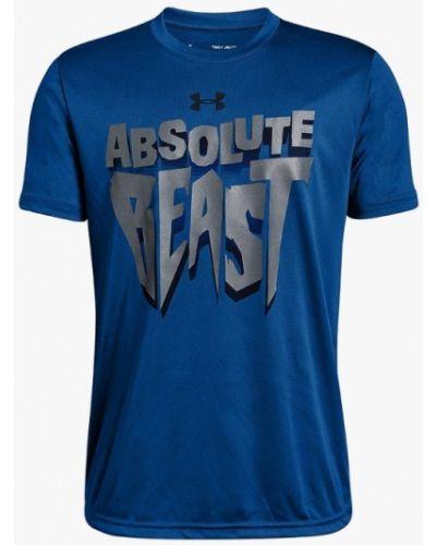 Синяя футболка Under Armour