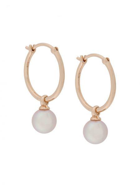 Kolczyki pierścionki kolczyki ze sztyftem z perłami Astley Clarke