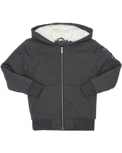 Bawełna nylon kurtka z kieszeniami Moose Knuckles
