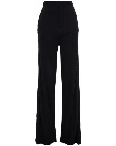 Spodnie z wiskozy - czarne Rag & Bone