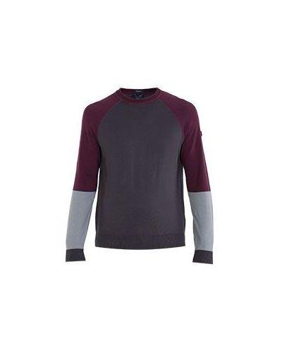 Красный спортивный свитер Armani Jeans