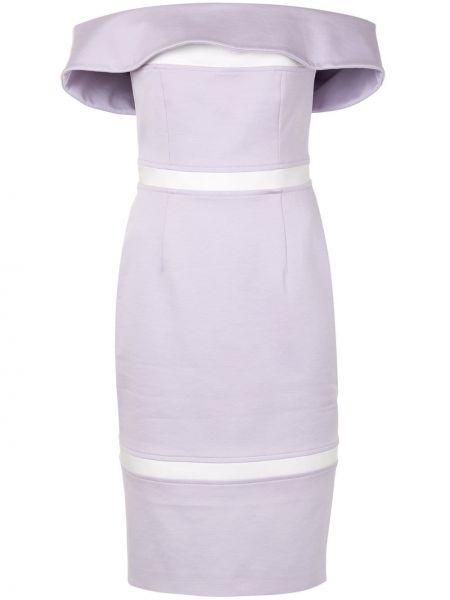 Платье через плечо с открытыми плечами Paule Ka