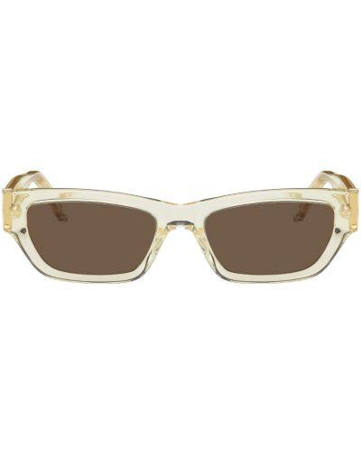 Okulary skorzane - białe Han Kjobenhavn