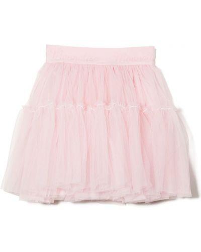 Różowa spódnica rozkloszowana tiulowa Monnalisa