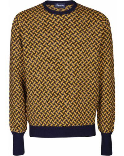 Sweter - żółty Drumohr