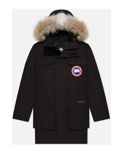 Хлопковая куртка с подкладкой с перьями Canada Goose
