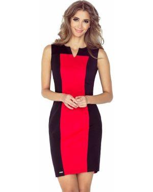Czarna sukienka materiałowa oversize Morimia