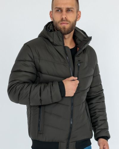 Куртка с капюшоном - хаки Ugos