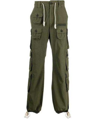Zielone spodnie Palm Angels