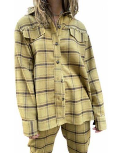 Koszula nocna - żółta Pinko