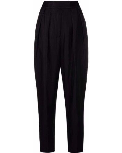 Черные зауженные брюки Ba&sh