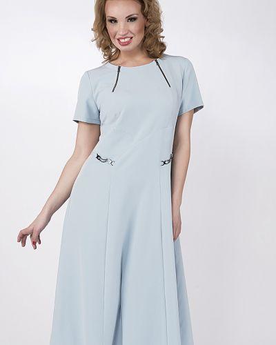 Платье с поясом на молнии платье-сарафан D`imma Fashion Studio